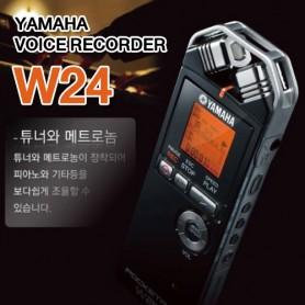야마하 W24 전문 핸디녹음기 전문가용 고음질 녹음기 강의녹음 연주 녹음 탁월한 녹음기