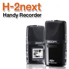 ZOOM H-2 줌 NEXT, 전문가용 녹음기 연주 녹음기, 강의 녹음기, 학습녹음기, 섹소폰연주 녹음기