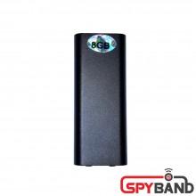 (스파이밴드) 미니녹음기 AT-MINI (국내최소형 슬림형 10시간 8GB 고음질 녹음기)