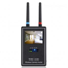 (스파이밴드) WCH 6000 몰래카메라탐지기 무선영상탐색 RF 카메라영상검사기