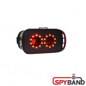 (스파이밴드) FX 9000 고휘도 IR 집중 고글형 몰래카메라탐지기 렌즈검사장비 전문가용 카메라전문탐색장비