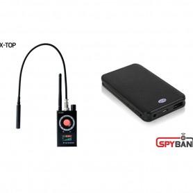 (스파이밴드) FX TOP 몰래카메라탐지기 + 장시간녹음기 세트상품