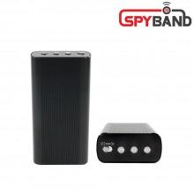 (스파이밴드) BA-3500 고성능녹음기 15일간 소리감지녹음 강력자석장착 차량용 휴대용 설치용