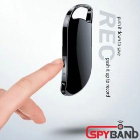 (스파이밴드) 아이언-V40H 키 홀더형 열쇠고리 녹음기 연속 녹음 40시간 32GB